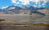 Kumtagh Sand Mountain, Ghez River Valley, Karakoram Highway, Xinjiang, China