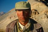 Tajik worker, Tashkurgan, Xinjiang, China