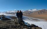 Tanya and Richard, Karakoram Highway near Tashkurgan, Xinjiang, China