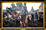 Morning of Tsar Guards Execution, Viktor Vasnetsov