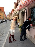 Hiring New Bodyguard in Rothenburg