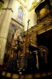 Tomb of Cristobal Colon in Sevilla