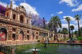 In Gardens of Sevilla's Alcazar