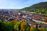 Autumn Morning in Heidelberg