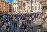 Trevi Fountain Mob