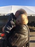 Myself and my grandson Jase, John's great grandson