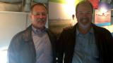 Myself with one of John's dearest friends Robert Hoot Gibson