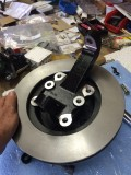 Wilwood Pro Spindle; soon to be mated to GM caliper