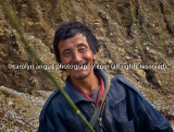 Bhutanese cow herder