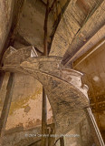200 year old wooden staircase