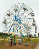 Ferris Wheel Energized by Burmese men