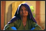 An Old Woman in Jaisalmer Spending Time...