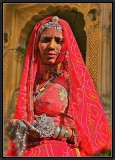 The Woman with Jewels. Jaisalmer.