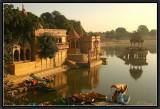 Early Morning. Gadi Sar. Jaisalmer.