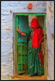 The Green Door. Jaisalmer.