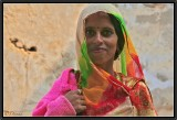 The Colorful Veil. Shekawati.