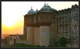Sunrise on Khejerla Fort.