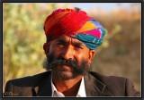 Portrait of a Camel Driver. Marwar.