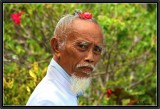 Portrait of a Brahmana - Tanah lot.