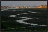 Sunset on Benoa Harbour (Low Tide).