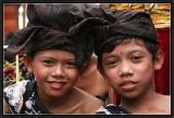 Two friends. Denpasar.