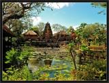 Saraswati Temple and Garden. Ubud.