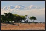 Clouds and Sands. Nusa Dua.