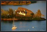 River Odet. Evening Light.