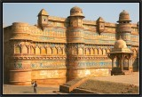 Man Singh Palace. Gwalior's Fortress.
