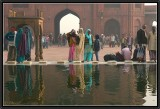 Jama Masjid. Old Delhi.