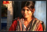 A Young Beauty. Orchha.