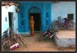 A Choice of Bikes. Orchha.