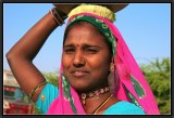A young woman from Rajasthan.