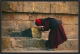 Deep Devotion. Sarnath.