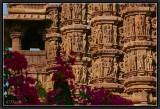 Khajuraho Temples. West Complex. Details.