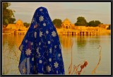 Watching the light declining. Jaisalmer.