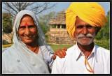 Visiting Khajuraho.