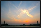 Angel in the Venitian Sky.
