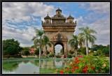 Patuxai. Vientiane.