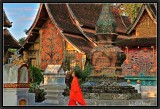 Vat Xieng Thong. Afternoon light. Luang Prabang.