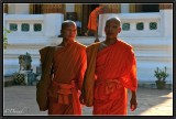 Two novices. Luang Prabang.