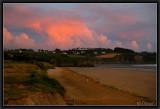 A Stormy Sunset. Kerlaz.