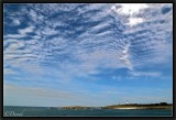 The Summer Sky over the Glenan Archipelago.