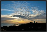 June Sunset. Trévignon Lighthouse.