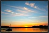 Sunset on Cap-Coz.