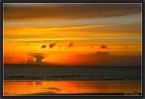 Sunset over Crozon Peninsula.