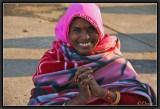 The Smile of the Pilgrim. Khajuraho.