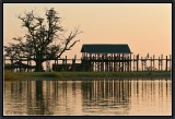U Bein Bridge. Amarapura.