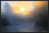A Misty Sunrise.