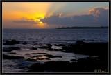 Sunset. Baie de Cornouaille.